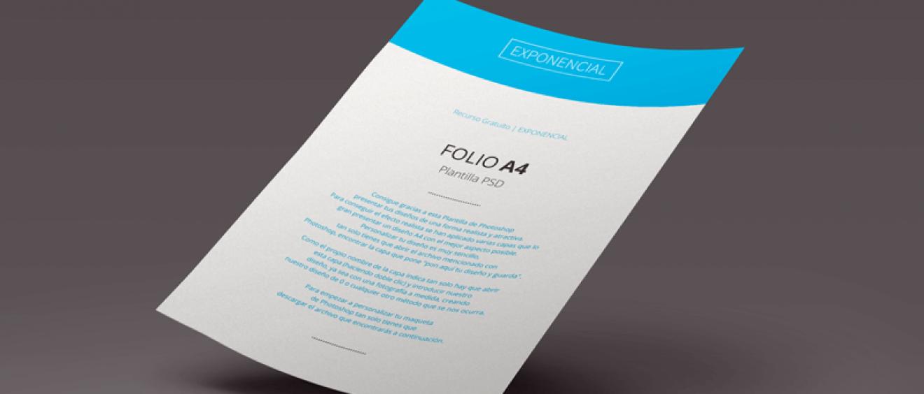 Plantilla PSD de Photoshop - Folio - Marketing Digital, Desarrollo ...